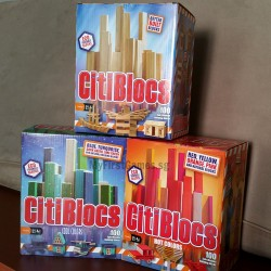 CitiBlocs Three Colours x 100s Box