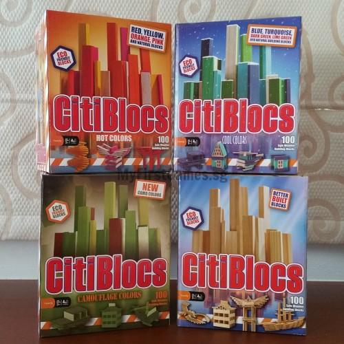 CitiBlocs Four Colours x 100s Box