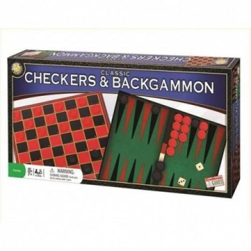 Checkers & Blackgammon