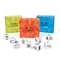 Rory's Story Cubes - Orange Blue Green SET