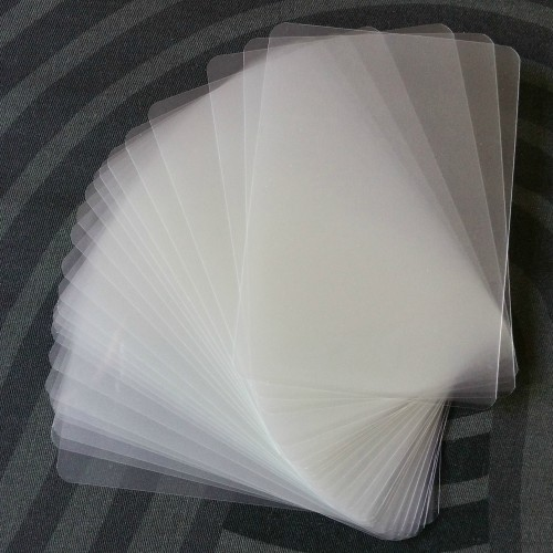 Laminating Sleeves Card-Sized