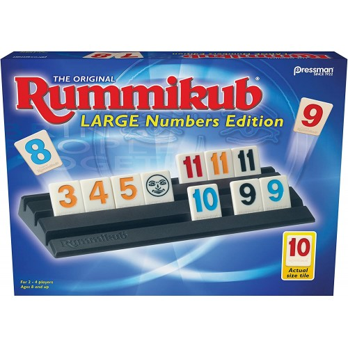 Rummikub - Large Number Edition - BOX DAMAGE