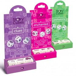 Rory's Story Cubes Mix - Clues Prehistoria Enchanted
