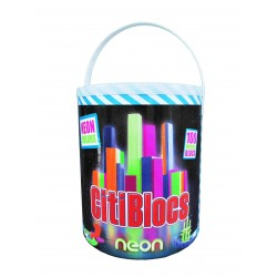 CitiBlocs 100 Neon in a Bucket