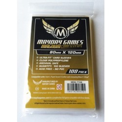 "Sleeves - 80x120mm Mayday Magnum Ultra-Fit ""Dixit"" Card Sleeves (100 per pack) Standard Thickness"