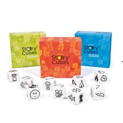 Rory's Story Cubes - Orange Blue Green SET